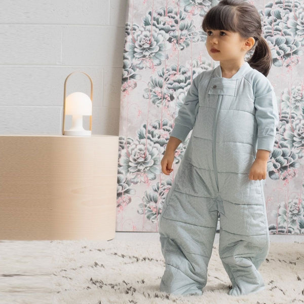 ErgoPouch - Sleep Suit Bag Winter (2.5TOG) - Mint - Baby Sleeping Bags - ErgoCocoon - Carry Them Close