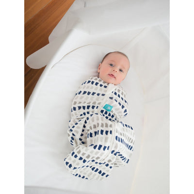 ErgoPouch - ErgoCocoon Autumn / Spring Swaddle & Sleeping Bag (1TOG) - Navy Paint, , Swaddle, ErgoCocoon, Carry Them Close  - 1