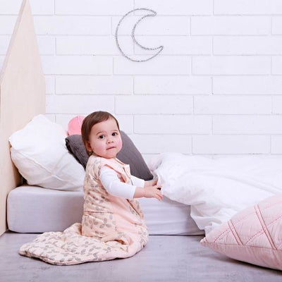 ErgoPouch - Cotton Sleeping Bag - Winter (3.5TOG) - Petals - Baby Sleeping Bags - ErgoCocoon - Afterpay - Zippay Carry Them Close
