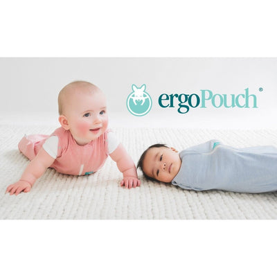 ErgoPouch - ErgoCocoon Autumn / Spring Swaddle & Sleeping Bag (1TOG) - Rhubarb, , Swaddle, ErgoCocoon, Carry Them Close  - 2
