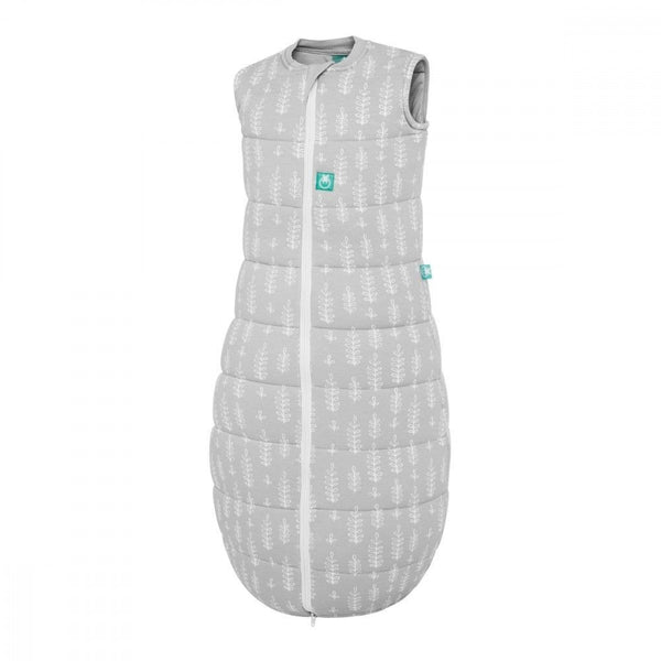 ErgoPouch - Jersey Sleeping Bag Winter (2.5TOG) - Grey Fern - Swaddle - ErgoCocoon - Carry Them Close