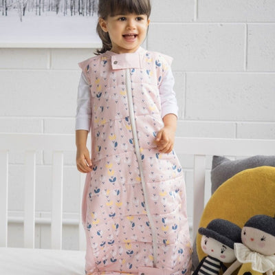 ErgoPouch - Baby Sleeping Bag Winter (2.5TOG) - Pink Petal - Baby Sleeping Bags - ErgoCocoon - Afterpay - Zippay Carry Them Close