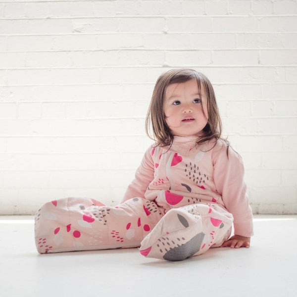 ErgoPouch - Sleep Suit Bag Winter (2.5TOG) - Tulip