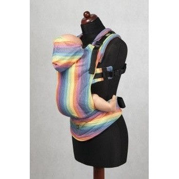 Lenny Lamb Ergonomic Carrier (BABY) - SUNRISE RAINBOW (Light) - Second Generation, , Baby Carrier, Lenny Lamb, Carry Them Close  - 1