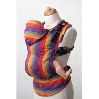 Lenny Lamb Ergonomic Carrier (BABY) - SUNSET RAINBOW (RD) - Second Generation, , Baby Carrier, Lenny Lamb, Carry Them Close  - 2