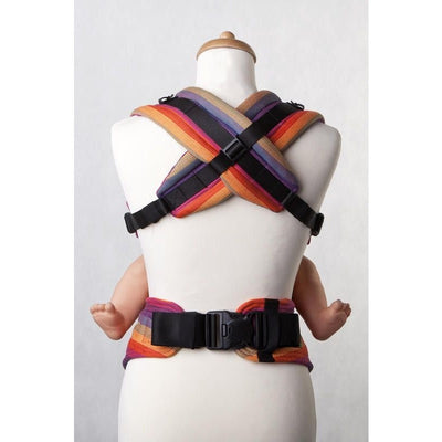 Lenny Lamb Ergonomic Carrier (BABY) - SUNSET RAINBOW (RD) - Second Generation, , Baby Carrier, Lenny Lamb, Carry Them Close  - 3