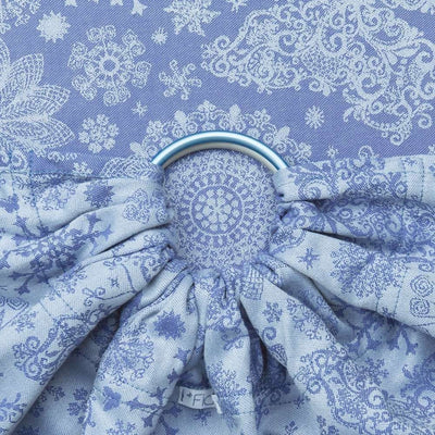 Fidella Ring Sling - Iced Butterfly - Pearl Blue, , Ring Sling, Fidella, Carry Them Close  - 1