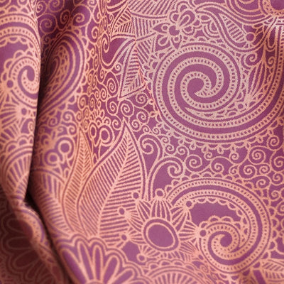 Fidella Ring Sling - Masala Scuba Mauve (Malve) - Ring Sling - Fidella - Afterpay - Zippay Carry Them Close