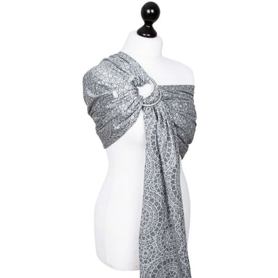 Fidella Ring Sling - Mosaic Stone Grey - Ring Sling - Fidella - Afterpay - Zippay Carry Them Close