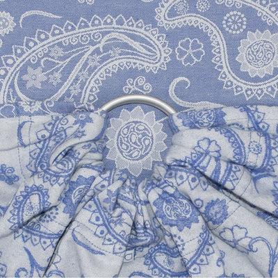 Fidella Ring Sling - Persian Paisley Royal Blue - Ring Sling - Fidella - Afterpay - Zippay Carry Them Close