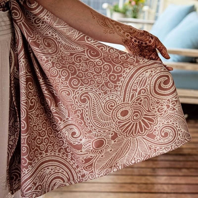 Fidella Ring Sling - Masala Henna bamboo, , Ring Sling, Fidella, Carry Them Close  - 2