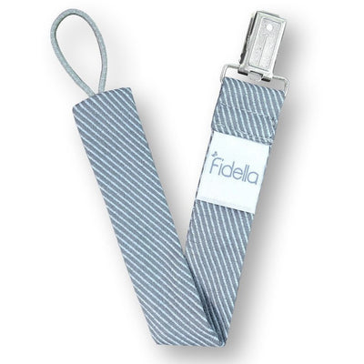 Fidella Dummy Strap - Lines Light Blue - Carrier Accessories - Fidella - Carry Them Close