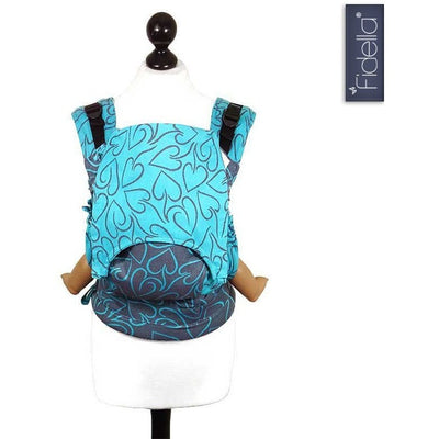Fidella Fusion babycarrier with buckles - Amors Love Arrows Plum - Baby Carrier - Fidella - Afterpay - Zippay Carry Them Close