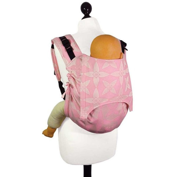 Fidella Onbuhimo back carrier - Blossom Bubble Gum, , Onbuhimo, Fidella, Carry Them Close  - 1