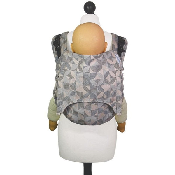 Fidella Onbuhimo back carrier - Kaleidoscope - sand, , Onbuhimo, Fidella, Carry Them Close