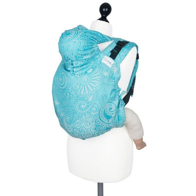 Fidella Onbuhimo back carrier - Masala Scuba Blue - Onbuhimo - Fidella - Afterpay - Zippay Carry Them Close