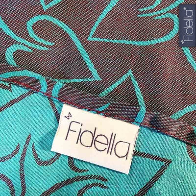 Fidella Ring Sling - Amors Love Arrows Plum - Ring Sling - Fidella - Afterpay - Zippay Carry Them Close