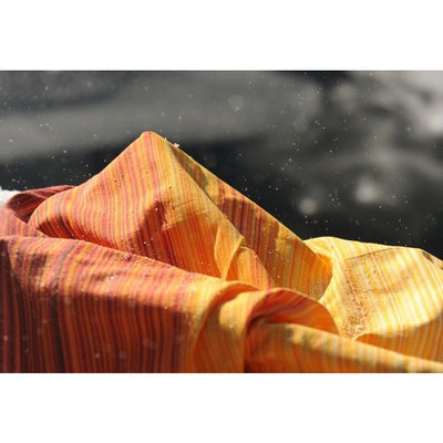 Girasol Hand Woven Wrap - Firework Yellow - Woven Wrap - Girasol - Afterpay - Zippay Carry Them Close