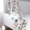 Di Lusso Living - Muslin Baby Swaddle Wrap - Forrest Walk