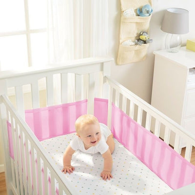 Breathable Baby - Breathable Mesh Cot Liner - Fresh Bloom - Cot Liner - Breathable Baby - Afterpay - Zippay Carry Them Close