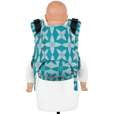 Fidella Fusion Toddler Carrier - Blossom Ocean Blue - Toddler Carrier - Fidella - Afterpay - Zippay Carry Them Close