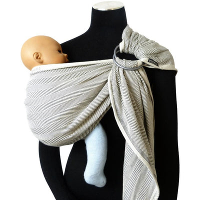 Didymos Ring Sling (DidySling) - Lisca Grigio - Ring Sling - Didymos - Afterpay - Zippay Carry Them Close