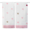 Aden and Anais - Security Blankets Comforter - Heart Breaker (set of 2)