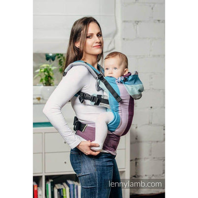 Lenny Lamb Ergonomic Carrier (BABY) - Icelandic Diamond - Baby Carrier - Lenny Lamb - Afterpay - Zippay Carry Them Close