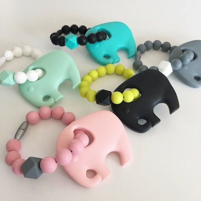 Silicone Teething Toy for Carriers - Teething Necklace - Nature Bubz - Carry Them Close