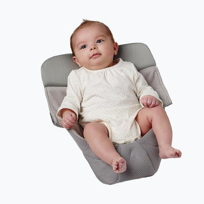 Ergobaby Infant Insert - Easy Snug Cool Air Mesh - Grey - Carrier Accessories - Ergobaby - Afterpay - Zippay Carry Them Close