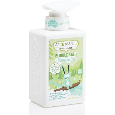 Jack n' Jill - Simplicity Bubble Bath, Natural Bath Time - Bath - Jack n Jill - Afterpay - Zippay Carry Them Close