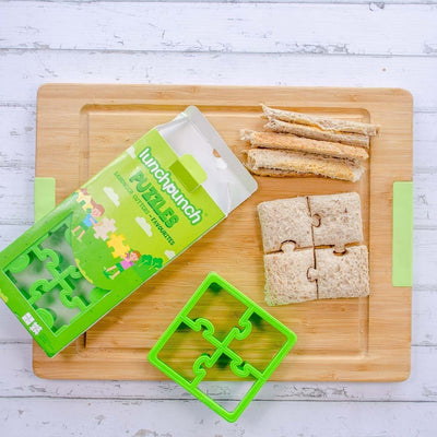 Lunch Punch Sandwich Cutters Pairs - Puzzles