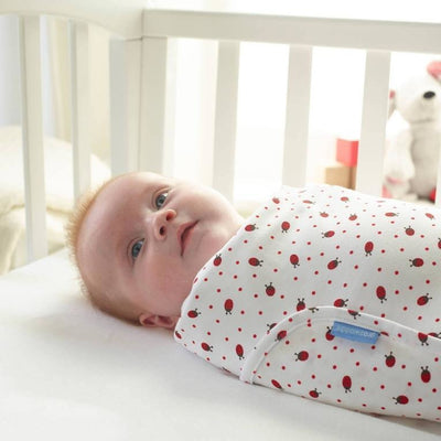 Gro Swaddle Baby Wrap - Ladybird - swaddle - The Gro Company - Afterpay - Zippay Carry Them Close