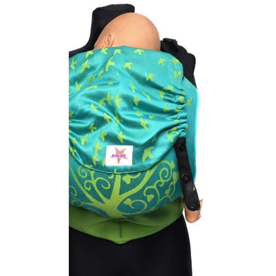 Kokadi Toddler XL Pre-School Size Flip - Leon Im Wunderland Bamboo (Limited Edition) - Toddler Carrier - Kokadi - Afterpay - Zippay Carry Them Close