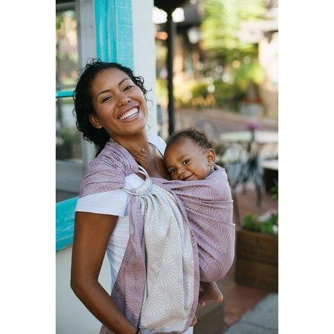 Tula Ring Sling - Lexington Lilac - Wrap Conversion, , Ring Sling, Tula, Carry Them Close  - 1