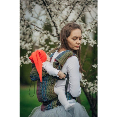 Lenny Lamb Ergonomic Carrier (BABY) - Little Love Delight (Silk, Wool, Cashmere, Cotton) (Second Generation), , Baby Carrier, Lenny Lamb, Carry Them Close  - 1