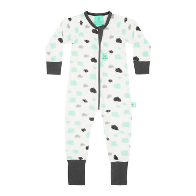 ErgoPouch - ErgoLayers Sleep Wear - Mid-Season Long Sleeve (1.0 TOG) - Clouds