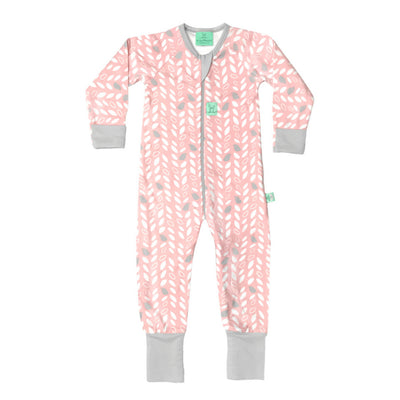 ErgoPouch - ErgoLayers Sleep Wear - Mid-Season Long Sleeve (1.0 TOG) - Spring Leaves