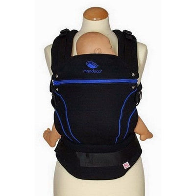 Manduca Baby Carrier - Blackline Carrier Blue - Baby Carrier - Manduca - Afterpay - Zippay Carry Them Close