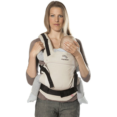Manduca Baby Carrier - Sand - Baby Carrier - Manduca - Afterpay - Zippay Carry Them Close