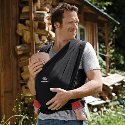 Manduca Sling - Black, , Stretchy Wrap, Manduca, Carry Them Close  - 1