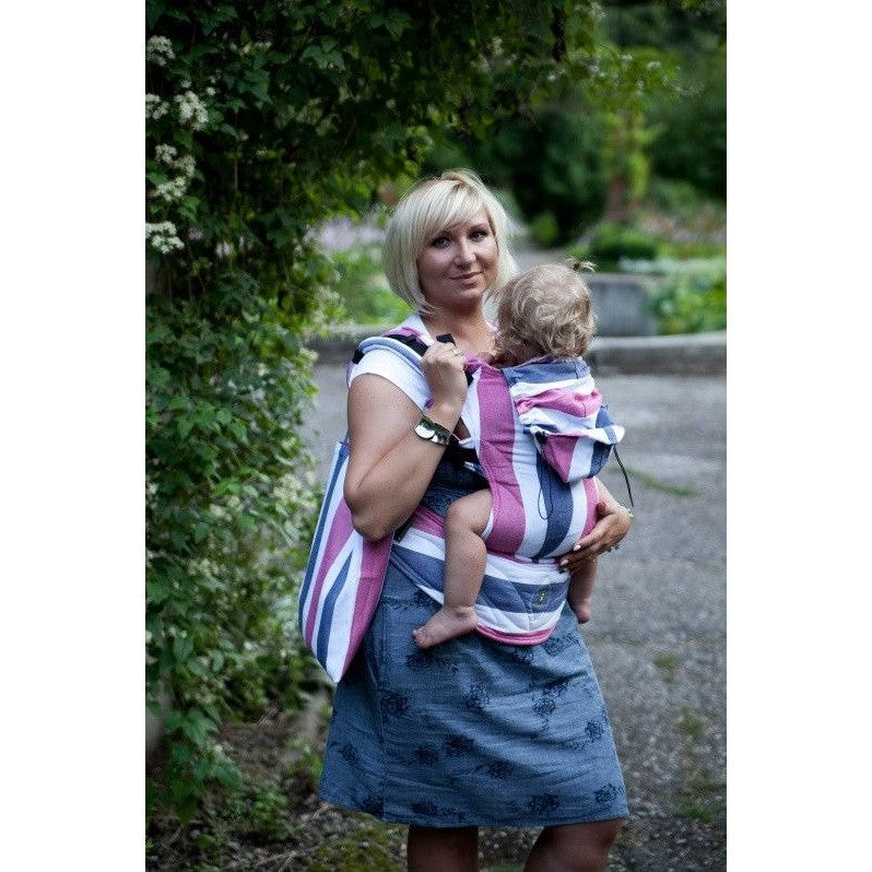 Lenny Lamb Ergonomic Carrier (BABY) - Marine, , Baby Carrier, Lenny Lamb, Carry Them Close