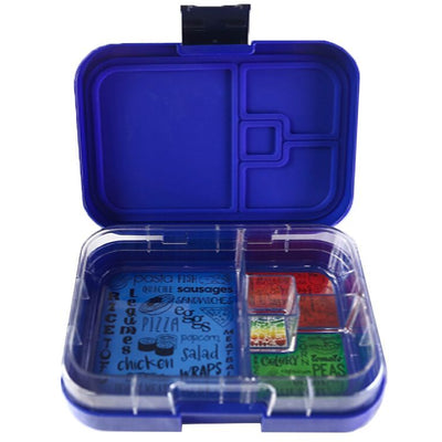 Munchbox - Mini4 Bento Lunch Box - Midnight Blue