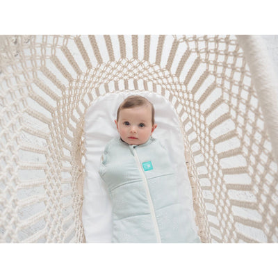 ErgoPouch - Ergo Cocoon Winter Swaddle & Sleeping Bag (2.5TOG) - Mint - Swaddle - ErgoCocoon - Afterpay - Zippay Carry Them Close