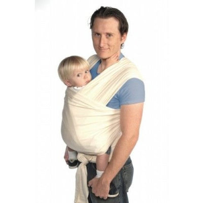 Moby Wrap - Natural - Stretchy Wrap - Moby - Afterpay - Zippay Carry Them Close