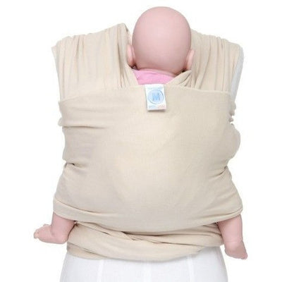 Moby Wrap Organic - Oatmeal, , Stretchy Wrap, Moby, Carry Them Close  - 2