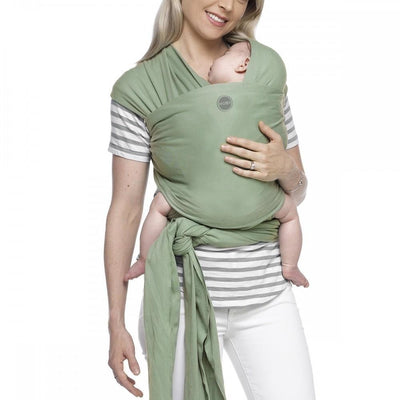 Moby Wrap - Moss - Stretchy Wrap - Moby - Afterpay - Zippay Carry Them Close