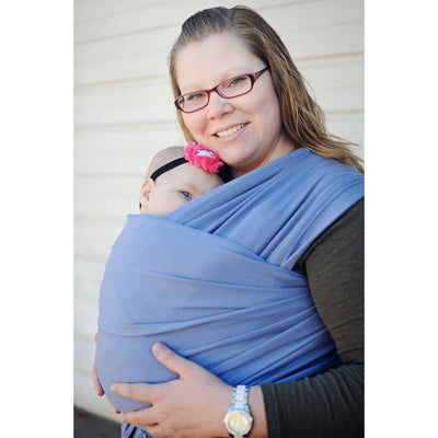 Moby Wrap Organic - Lagoon - Stretchy Wrap - Moby - Afterpay - Zippay Carry Them Close