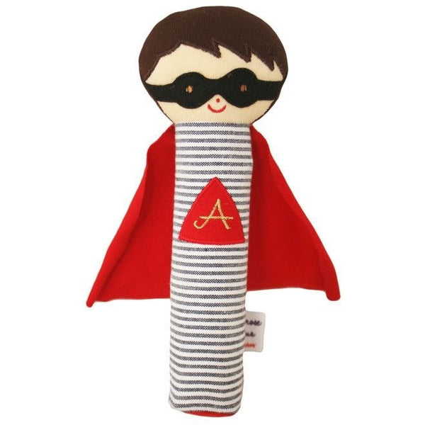 Alimrose - Super Hero Squeaker Rattle - Toys - Alimrose - Carry Them Close