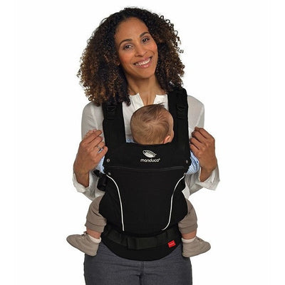 Manduca Baby Carrier Pure Cotton - Night Black - Baby Carrier - Manduca - Afterpay - Zippay Carry Them Close